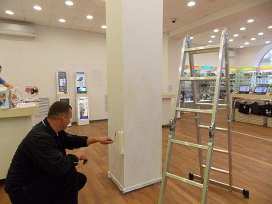Обслуговування охоронної сигналізації в магазині фото, картинка