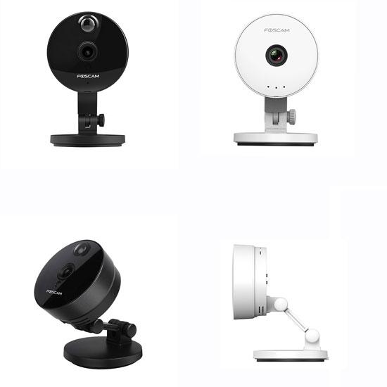 Зовнішній вигляд обладнання бюджетної системи відеоспостереження