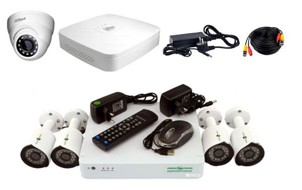 Зовнішній вигляд обладнання аналогової системи відеоспостереження