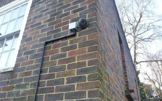 Купольная камера наружного наблюдения