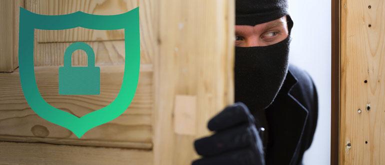Охранная сигнализация на входную дверь фото, картинка