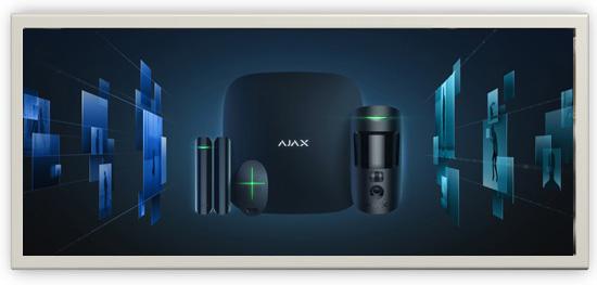 Акция «AJAX, бесплатный монтаж и пультовая охрана в подарок!»
