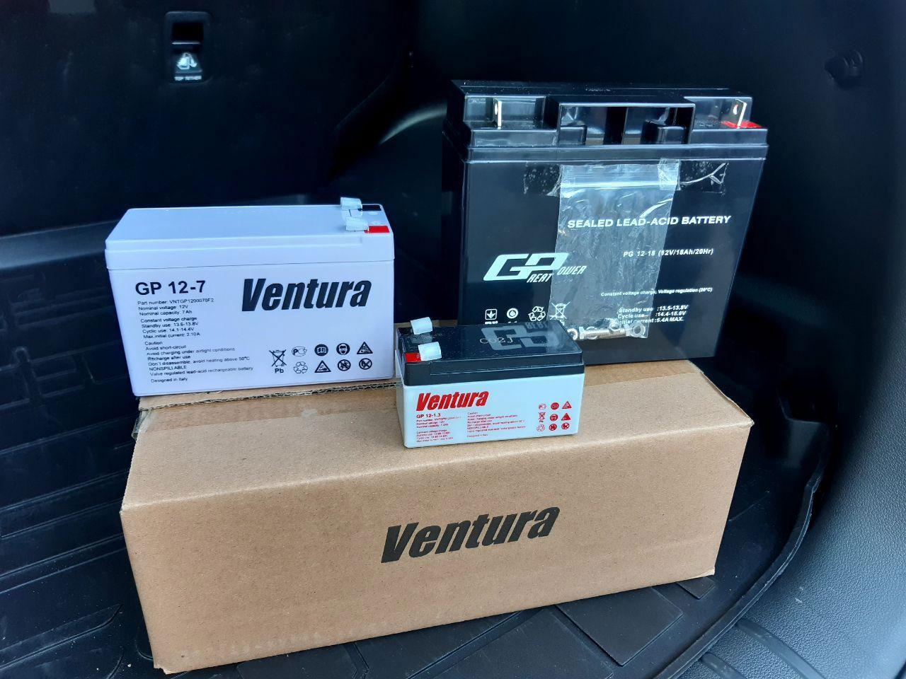 Акумуляторні батареї для охоронної сигналізації, відеоспостереження та контролю доступу